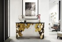 100 Modern Console Tables eBook / Modern Console Tables made by the best interior designers and luxury brands of the world. Created specially for contemporary home decor. Discover the FREE eBook: http://modernconsoletables.net/100-modern-console-tables/