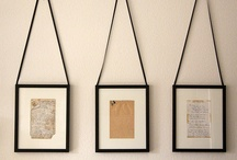 Hanging Artwork & Objects / by Crystal Roden Anderson