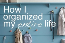 organization. / by Erica Browne