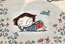 Binny Talib's Illustrations / Some of my work