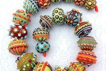 Бусины лэмпворк Lampworked Beads - Sets
