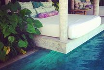 Splash :: Pools & Bathrooms / Pools, lakes, tubs, beaches, water features, bathroom, travel, spa, ocean, lazy river  / by Fiona M