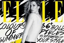 Favorite Magazine Covers / Vogue | Elle | GQ | Bazaar. All great covers! Go HERE!