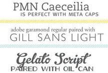 DIY Fonts / by Jillian Savoie