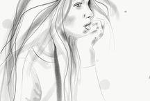 Bonjour Binny fashion illustrator / Fashion illustration, Fashion Art