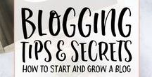| BEST BLOGGING TIPS | / How to start a blog and learn how successful bloggers manage their blogs.