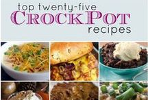 Slow Cooker Main Dish Recipes / Tasty slow cooked meals from our website - www.getcrocked.com Happy Crocking!