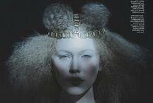 LaKrause / Various Editorial & Creative shots of my Handmade Headpieces