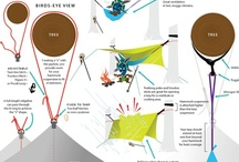 Backpacking / Lightweight backpacking and hammock backpacking  / by Clayton Davis