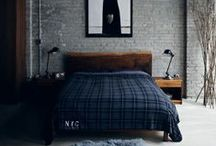 Masculine / A board devoted to the manly, masculine aesthetic with rich materials, flannels, and deep color schemes.