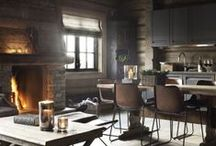 Rustic Modern / A board devoted to the one who loves the cozy comfort of the country, but the convenience and design of the modern age.