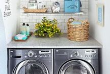 Laundry Rooms / A board devoted to the artful arrangement of the laundry room.