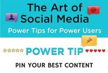 Power Tips from The Art of Social Media / Follow this board for actionable social media marketing tips from The Art of Social Media: Power Tips for Power Users by Guy Kawasaki and Peg Fitzpatrick / by Peg Fitzpatrick