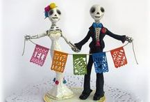#KFPGetsMarried / Ideas for our best wedding planners.   Colours! Fiesta! Flowers! Papel Picado! Lights!  Dia de los Muertos! Converse! Fireworks! Mariachi! Music!   Best wedding of 2016. #Rangelows #KFPGetsMarried  (Comments are most likely not mine as I'm a lazy pinner) / by Susan @kungfupussy