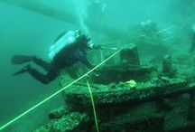 Michigan Shipwrecks / The depths of the Great Lakes hold hidden treasures