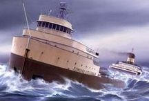 Edmund Fitzgerald / MLive marks the 40th anniversary of the infamous shipwreck