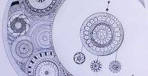Coloriages, mandalas et zentangles / Coloriages, mandalas et zentangles