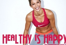healthy is happy / some images to inspire me to get moving / by Amy Trevino Getz