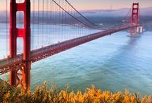 San Francisco / A visit to California isn't complete without a stop in the Bay Area. From Berkeley and Oakland to Marin and San Francisco, each area features vibrant arts scenes, fresh, local food, and unique, diverse neighborhoods. Share your favorite hot spot by the Bay.  / by Expedia