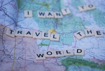 Travel Bucket List  !  / Before I die these are the places I MUST see. / by Tina Joudry