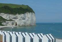 Living in Normandy / Mes balades en Normandie, entre terre et mer.