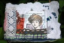 livres textile - fabric books