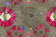 Fabric Designs by Domoshar Studios / what I play with