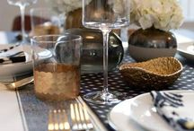 Set the Table / Nothing is more inviting than a beautifully arranged table.  It's all in the details ♥ / by Tina Joudry