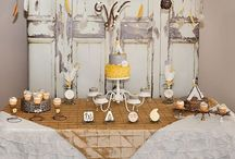 Baby P's Rustic Baby Shower / by Ashley Phillips