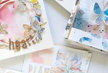 Paper / Paper, papercrafting, collage, watercolors