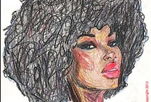 Natural Hair Inspiration / by Alicia Brooks