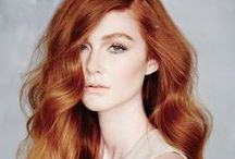 Gingspiration / My hair color inspiration board.