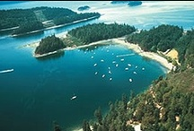Galiano Island from the Sky & Sea / Photographs of Galiano Island taken from the sky by Salt Spring Air or SeAir seaplanes, and from BC Ferries. We look marvellous from all angles, don't you agree?