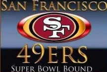 49ers THE ONLY TEAM!!!!!!! / by Susan Seegert
