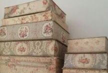 french antique fabric - tissu ancien - boutis