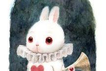 Alice, bianconigli e altre meraviglie / by Chantal