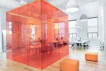 Contemporary Workspace. / Contemporary work spaces and office design