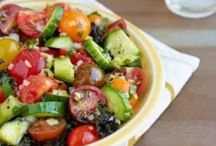 Random Veggies and sides / #vegetables #sides / by Kristine Bets
