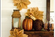 Fall for Autumn / The days are getting shorter and the humidity is finally dying down. Autumn is a beautiful time of year - colorful leaves, warm snuggly nights, fuzzy clothes, crunchy leaves, and fall boots! Embrace Autumn with these fun fall DIY projects, decor ideas, recipes and more!