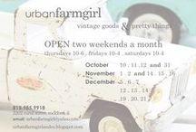 urban farmgirl: my brick-and-mortar shop!