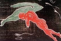 Nubes. Nuages. Clouds / Poesía, sueño, olvido, imaginación, ensoñación, pensamiento, alma Suavidad, delicadeza, comodidad, ligereza. Lo difuso, lo impreciso, lo inasible, lo indefinido, lo connotado, lo amorfo ... La transformación lenta, el indeterminismo. Agua de Tales, Áperion de Anaximandro, Aire de Anaxímenes. / by emiliofr