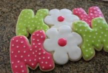Decorated sugar cookies / by Amy Wu