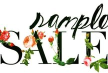 THE CLEARANCE RACK /  Beautiful Samples at Fantastic Prices! {Many have been Further Reduced} *Stock Not Guaranteed *No Holds
