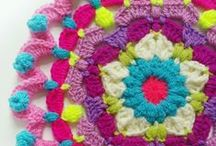 CROCHET / Crochet Patterns, Crochet, Granny Squares, Jumpers, Crochet Tutorials.