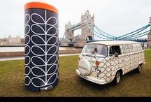 Orla Kiely / We've collaborated with super-stylish international designer Orla Kiely to create a new must-have range of Retro Pedal Bins!