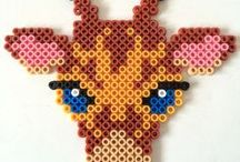 HAMA / PERLER BEADS / Lots of creative bead crafts and activities. Hama beads, Perler beads, melty beads...