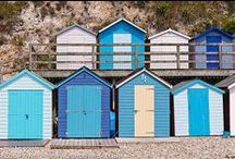 BEAUTIFUL BEACH HUTS / Colourful beach huts around the UK and rest of the world.