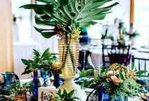 Wedding Style / Ideas and dreams for your wedding moment by the coast. Beach wedding, shells, beachy, coastal wedding, wedding ideas, wedding planning, wedding ceremony, wedding reception, tropical