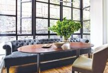 dining room. / vintageluxe dining room design inspiration