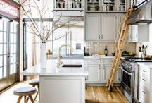 kitchen. / vintageluxe kitchen design inspiration